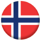 Norway Country Flag 25mm Pin Button Badge